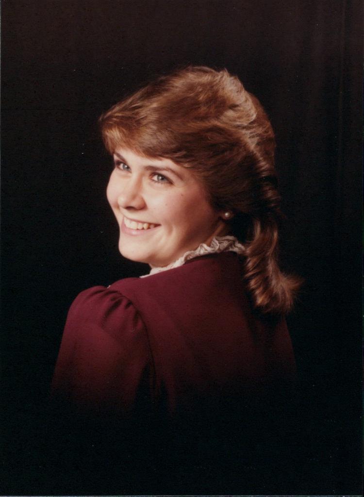 Kristin Jones when she was a senior in highschool