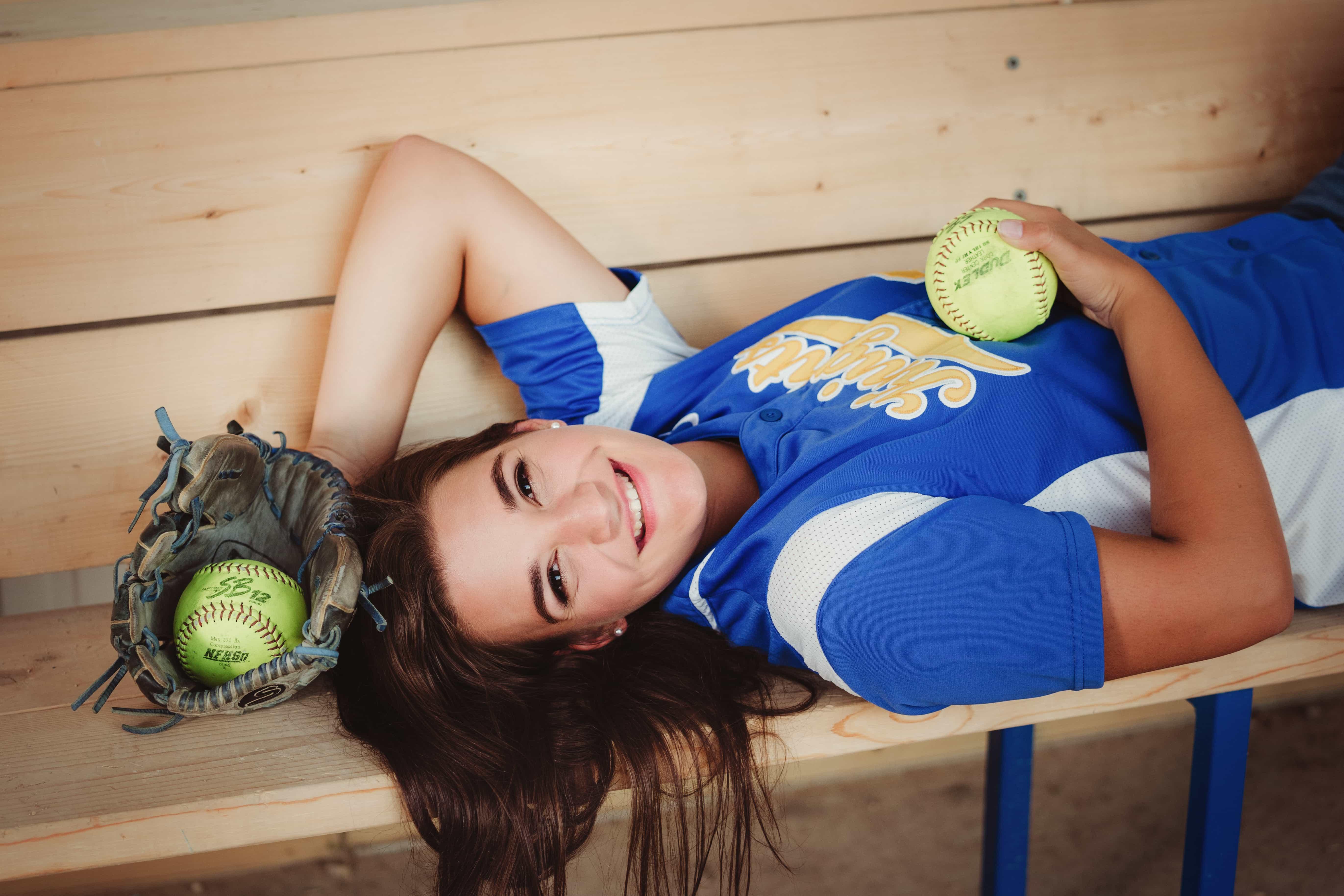 senior girl softball